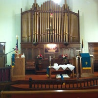 Photo taken at Cherryvale United Methodist Church by Andy T. on 7/1/2012