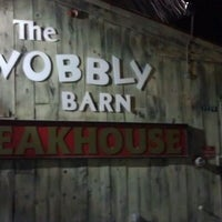 Photo taken at Wobbly Barn Steakhouse by James H. on 2/4/2012