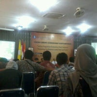 Photo taken at Aula FISIP UNS by Fannani N. on 3/19/2012