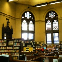Photo taken at New York Public Library - Jefferson Market by Michael H. on 4/16/2012