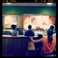 Photo taken at Bruegger's Bagel Bakery by Christopher W. on 6/24/2012