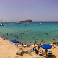 Photo taken at Cala Comte by Marta M. on 8/4/2012