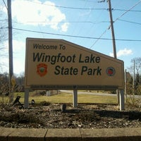 Photo taken at Wingfoot Lake State Park by Beth s. on 2/29/2012