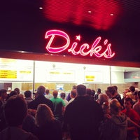 Photo taken at Dick's Drive-In by Bryan H. on 9/2/2012