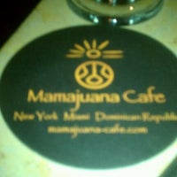 Photo taken at Mamajuana Cafe by Gal nyc on 4/16/2012