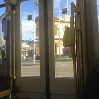 Photo taken at Tram Stop 112 - Elgin/Lygon St by Peter W. on 7/15/2012
