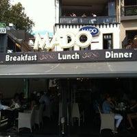 Photo taken at Mado by Pedro C. on 9/2/2012