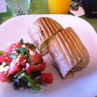 Photo taken at Green Market Cafe by Essex on 5/27/2012