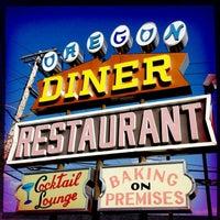 Photo taken at Oregon Diner by Argo 2. on 3/17/2012