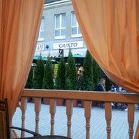 "Photo taken at Трактир ""Сено"" by Елена С. on 5/29/2012"