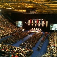 Photo taken at Columbus Civic Center by Amanda R. on 5/7/2012