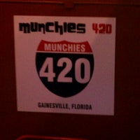 Photo taken at Munchies 420 Cafe by Brian C. on 3/3/2012