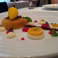 Photo taken at Restaurante Lasarte by Paul S. on 8/30/2012