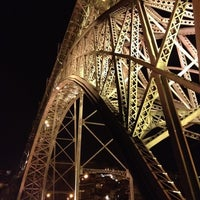 Photo taken at Ponte Dom Luís I by Lucy C. on 9/4/2012