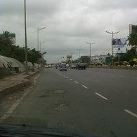Photo taken at Kherwadi Junction by Nikhil K. on 7/15/2012
