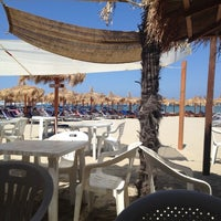Photo taken at Villa Rosa - Bar Beach & Restaurant by Ilaria B. on 7/3/2012