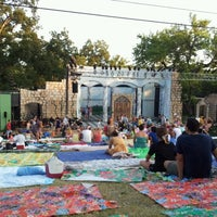 Photo taken at Beverly S. Sheffield Zilker Hillside Theater by Brian S. on 8/10/2012