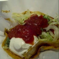 Photo taken at Sky's Gourmet Tacos by Mark A. on 7/12/2012