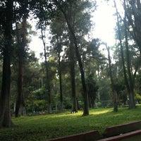 Photo taken at Parque de La Loma by Guillermo G. on 8/28/2012