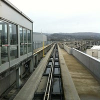 Photo taken at SFO AirTrain by PoP O. on 3/17/2012
