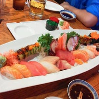 Photo taken at Sushi Park by Andy C. on 9/7/2012