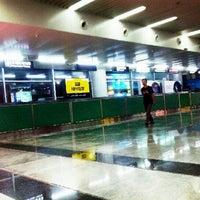 Photo taken at Dalian Zhoushuizi International Airport (DLC) by Innokentii K. on 9/8/2012
