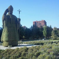Das Foto wurde bei Parque Juan Pablo II von Ignacio A. G. am 2/5/2012 aufgenommen