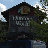 Photo taken at Bass Pro Shops by Roseanne on 4/17/2012