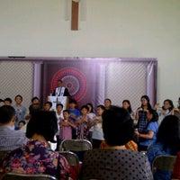 Photo taken at Gereja Toraja Bintaro by Penn B. on 7/19/2012