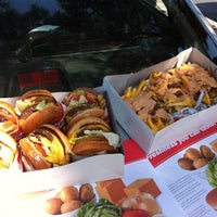 Photo taken at In-N-Out Burger by Payton O. on 5/19/2012