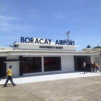 Photo taken at Godofredo P. Ramos Airport (Boracay Airport) / Caticlan Airport (MPH/RPVE) by Glenn I. on 5/3/2012