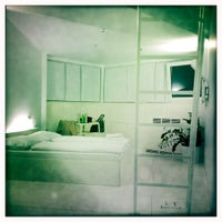 Photo taken at Goli + Bosi Design Hostel by Lovro R. on 2/24/2012