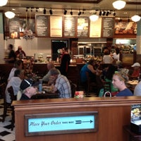 "Photo taken at Corner Bakery Cafe by ""  Thomas D. on 7/27/2012"