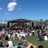 Photo taken at Coachella Outdoor Theatre by Anastasia P. on 4/14/2012