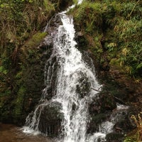 Photo taken at Cascadas de Xorrosin by Adolfo S. on 5/5/2012