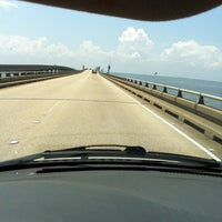 Photo taken at Lake Pontchartrain Causeway by Monica J. on 5/6/2012