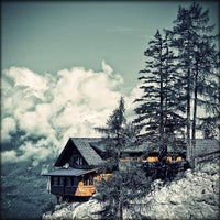 Photo taken at Dolomitenhütte by Alessandro A. on 2/15/2012
