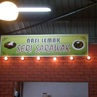 Photo taken at Nasi lemak seri sarawak by Hairry R. on 8/28/2012