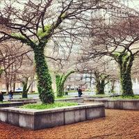 Photo taken at Sculpture Garden - Art Institute of Chicago by James B. on 4/1/2012
