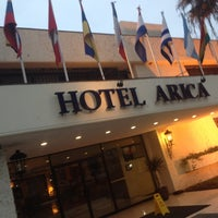 Photo taken at Hotel Arica by Janito M. on 9/1/2012