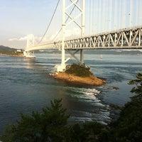 Photo taken at Onaruto Bridge by atomato s. on 9/12/2012