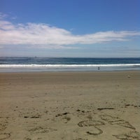 Photo taken at Scarborough State Beach by Rob M. on 6/18/2012