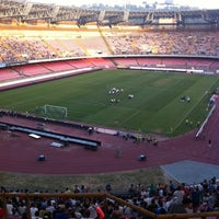 Photo taken at Stadio San Paolo by Giancarlo V. on 7/29/2012