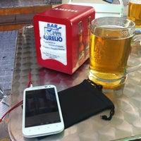 Photo taken at Terraza de Bar Aurelio - Mérida by Arild H. on 6/22/2012