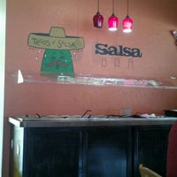 Photo taken at Tacos N Salsa by Christopher H. on 5/6/2012