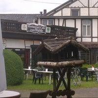 Photo taken at Restaurant Cafe zum Walde by Rod B. on 7/1/2012