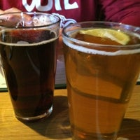 Photo taken at Turtle Mountain Brewing Company by Daniela R. on 3/11/2012