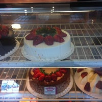 Photo taken at Pierre's Bakery by Israel M. on 2/16/2012