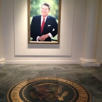 Photo taken at Ronald Reagan Presidential Library and Museum by LoveLilyStarGazers on 3/30/2012