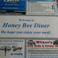 Photo taken at Honey Bee Diner by Richard M. on 3/21/2012
